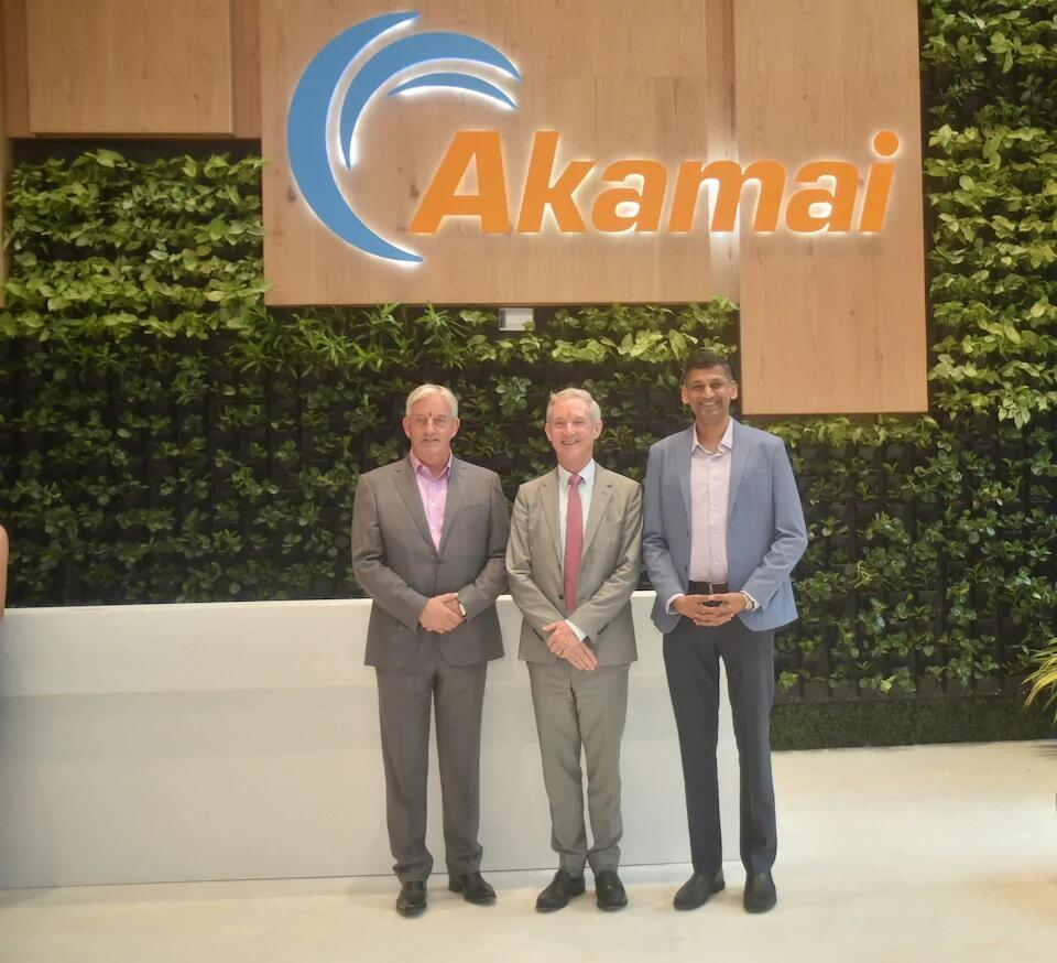 Opening of Akamai's India facilities