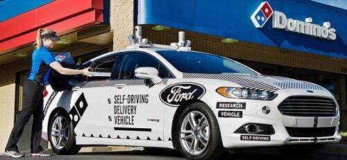 Ford Pizza Delivery