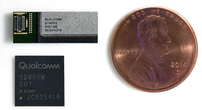 Qualcomm 5G mmwave transceiver