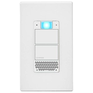 Leviton DWVAA-1BW Decora Smart Voice Dimmer